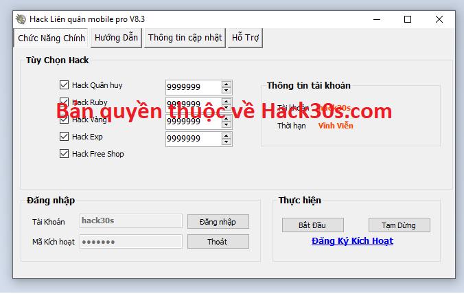Hack Liên Quân Mobile miễn phí Lienquandddaa