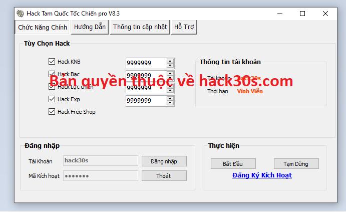 Hack Tam Quốc Tốc Chiến miễn phí Tamquoctocchienh