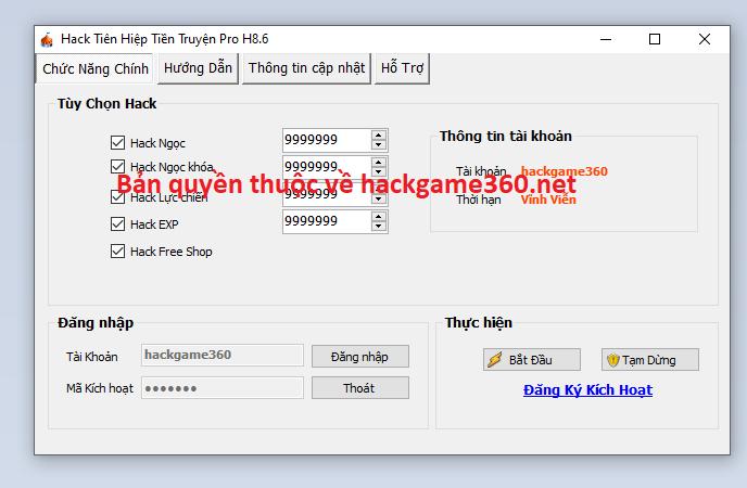 Hack Tiên Hiệp Tiền Truyện miễn phí Tienhiepkytruyenfsagsa