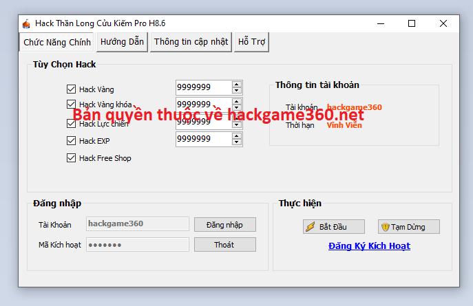 Hack mod Thần Long Cửu Kiếm mới nhất Thanlongcuukiemsgafr