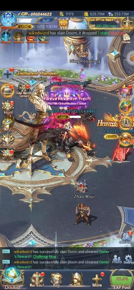 Mod game Soul Land: Đấu La Đại Lục full kim cương - Page 2 182664180_783471332319232_2423458520845265165_n