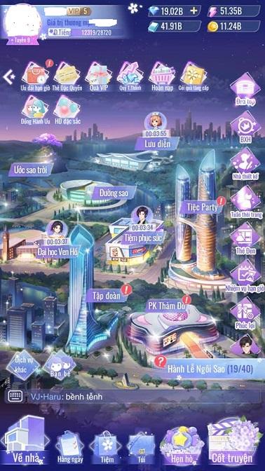 Khoe acc Ngôi Sao Lấp Lánh Mobile giàu nhất game hôm nay 191853079_1399943290384683_7658704187104836214_n